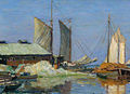 Oyster Warf Biloxi Mississippi 1925 William Woodward.jpg