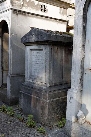 Julius von Mohl - Grave at Père Lachaise Cemetery (56th division)