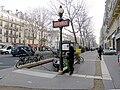 P1000681 Paris III Boulevard Beaumarchais metro Chemin-vert reductwk.JPG