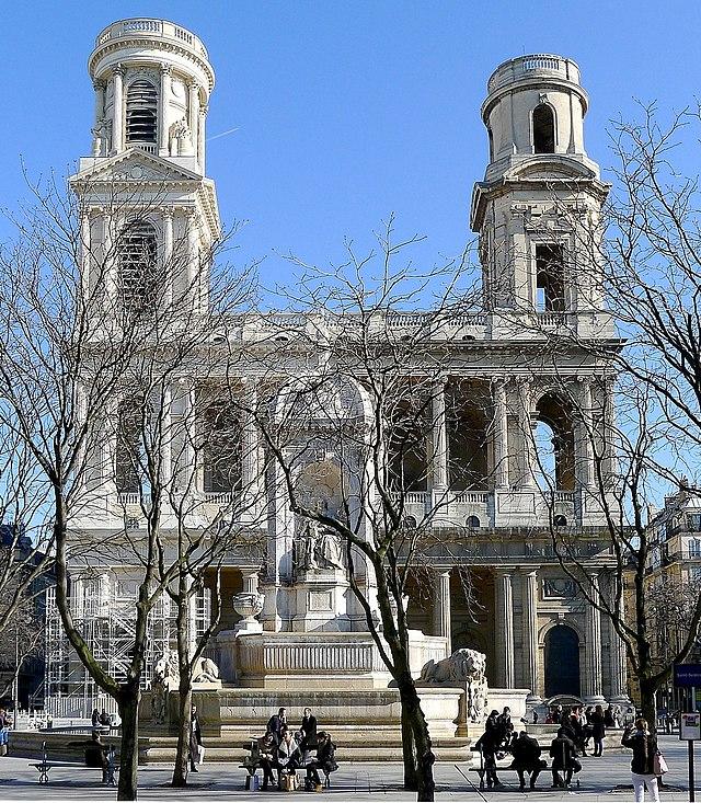 P1000811 Paris VI Saint-Sulpice Façade reductwk.JPG