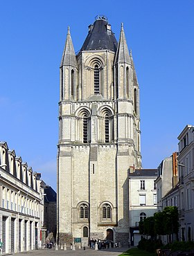 Image illustrative de l'article Abbaye Saint-Aubin d'Angers