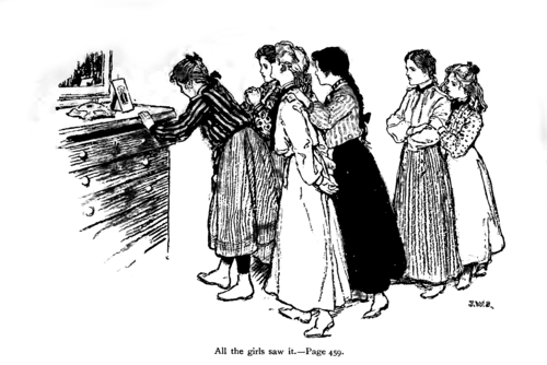 P458, Scribner's Magazine 1903--The blue dress.png