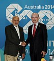PM Modi and President of the European Council Herman Van Rompuy at the 2014 G-20 summit.jpg