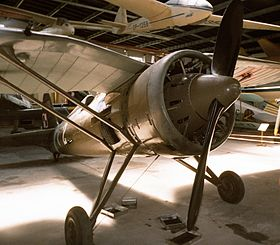 P.11c exposé au Musée de l'Aviation Polonaise de Cracovie.