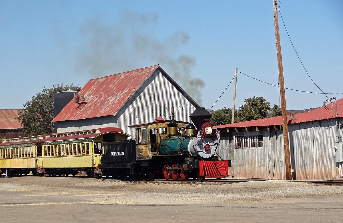 Pacific Coast Railroad Tourist Wikipedia