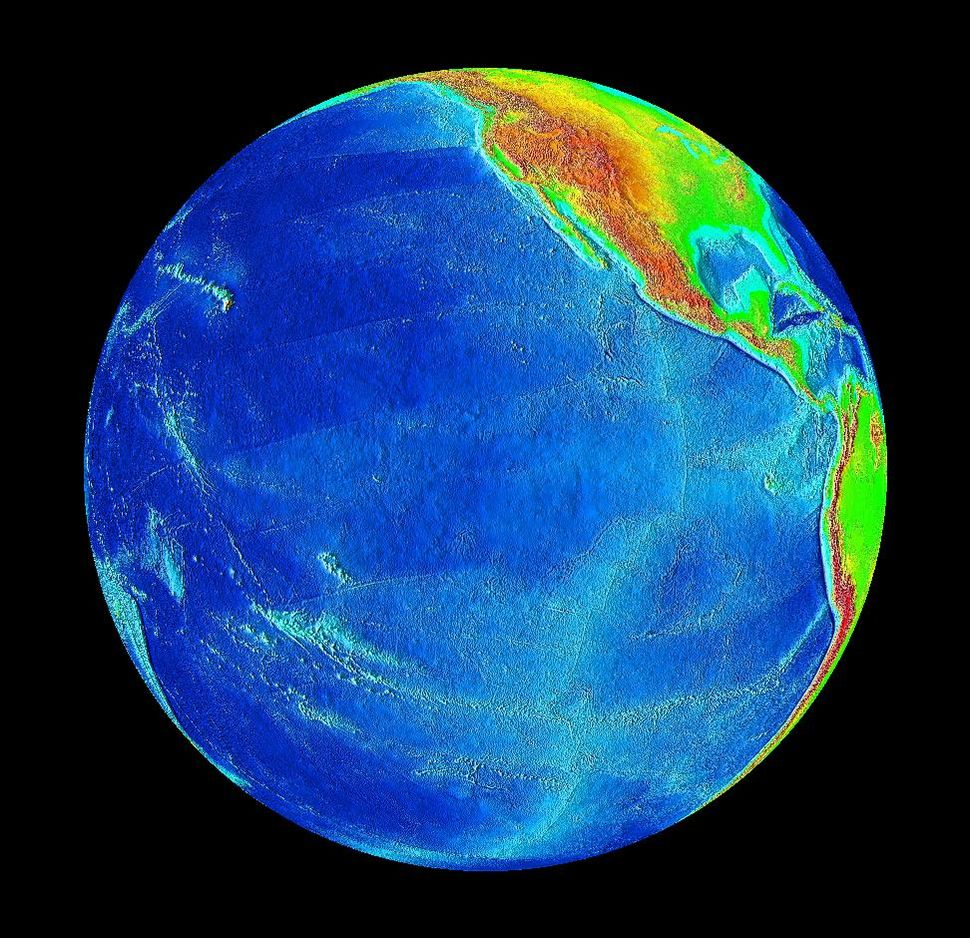 Pacific Ocean surface 2