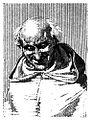 """Padre Castillo, ilustración de """"Napoleón en Chamartín"""" de Galdós.jpg"""