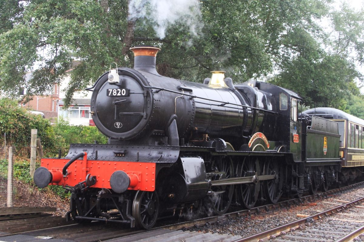 GWR 7800 Class 7820 Dinmore Manor - Wikipedia