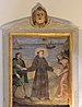 Painting of Saint Antony and naked man N 4 San Antone church Urtijëi.jpg