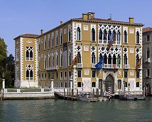 The Palazzo Cavalli-Franchetti in Venice, Ital...