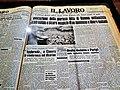 Palazzo Ducale (Genova) Mostra su Sandro Pertini una pagina de Il Lavoro.jpg