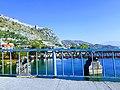 Pamje e Kalasë Rozafa nga Ura e Bahçallelut.jpg