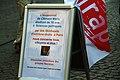Pancarte du MRAP mémoire Clément Méric Strasbourg 6 juin 2013.jpg