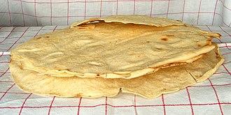 Flatbread - Pane carasau from Sardinia