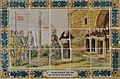 Panell ceràmic amb la història del monestir de la Plana, Xàbia.JPG