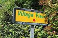 Panneau village fleuri St Genis Menthon 1.jpg