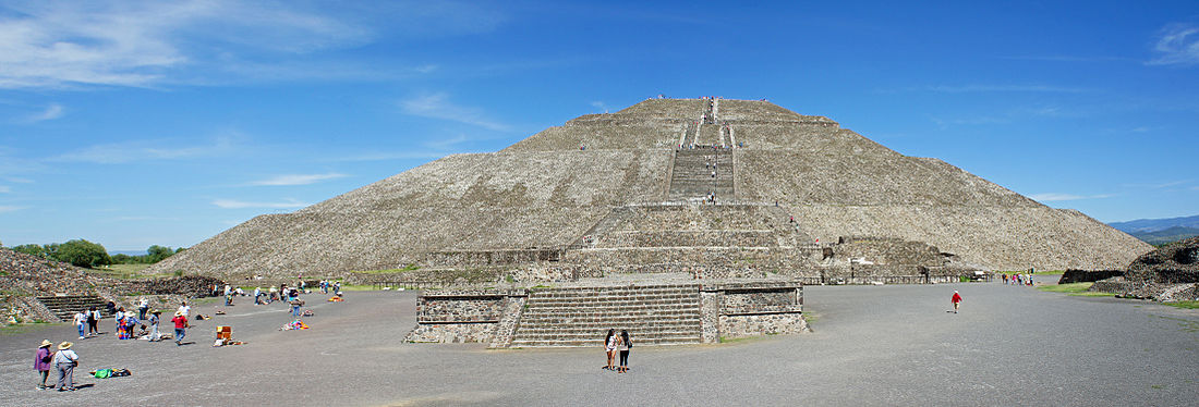 Pyramid of the Sun, Teotihuacán archaeological site, Mexico