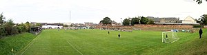 Musselburgh Athletic F.C. - A panoramic view of Olivebank Stadium