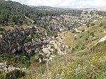 Pantalica valley, Sortino side.jpg