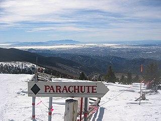 Ski Santa Fe Ski resort in New Mexico, United States