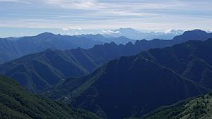 Val Grande National Park - Image: Parco Val Grande seen from Pian Cavallone
