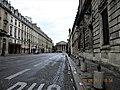 Paris, France. Rue Royale, from Place de la Concorde. EGLISE MADELAINE in background.(PA00088812).jpg