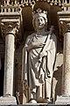 Paris - Cathédrale Notre-Dame -Galerie des rois - PA00086250 - 009.jpg