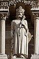 Paris - Cathédrale Notre-Dame -Galerie des rois - PA00086250 - 028.jpg