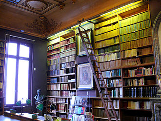 Fondation Dosne-Thiers - Reading room.