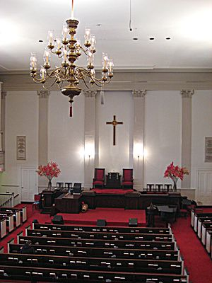 Park Street Church - Church interior, 2007