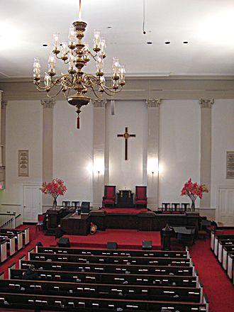 Park Street Church - Church interior, 2007