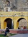 Park Scene with Colonial Facade - Antigua Guatemala - Guatemala (15992407281).jpg