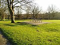 Park bench, Churchfields Recreation Ground - geograph.org.uk - 1165139.jpg