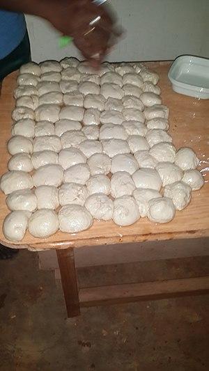 Parotta - Image: Parotta fluff balls