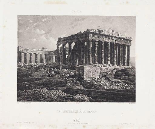 Parthenon 1839