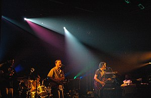 Particle (band) - Particle performing in 2006