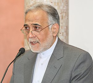 English: First Vice President of Iran, Parviz ...