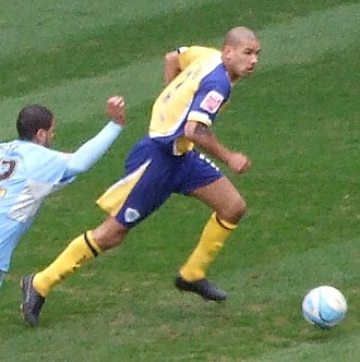 Patrick Kisnorbo - Kisnorbo playing for Leicester City in 2008