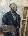 Paul Cézanne, c.1890, Portrait de l'artiste à la palette, oil on canvas, 92 x 73 cm, Foundation E.G. Bührle.jpg