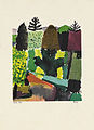 Paul Klee Park Lithograhie 1920 after watercolor 1914.jpg