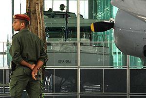 Granma (yacht) - Granma Memorial in Havana