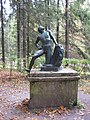 "Pavlovsk Park. Twelve tracks. The outer circle. Statue ""Ilium""..JPG"