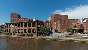 Peace Center - Image: Peace Center, Greenville SC, South view 20160701 1