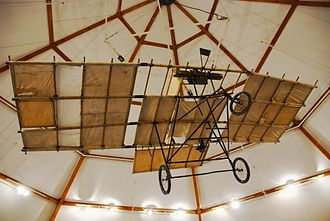 Richard Pearse - A replica of Pearse's monoplane
