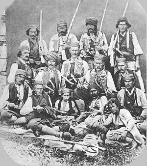 Banjani - Peasants of the Banjani, ca. 1860