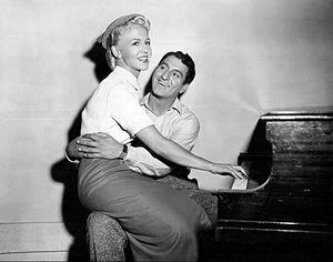 The Jazz Singer (1952 film) - Peggy Lee and Danny Thomas