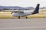 Pekal Aviation (VH-JQM) Partenavia P68B at Wagga Wagga Airport.jpg