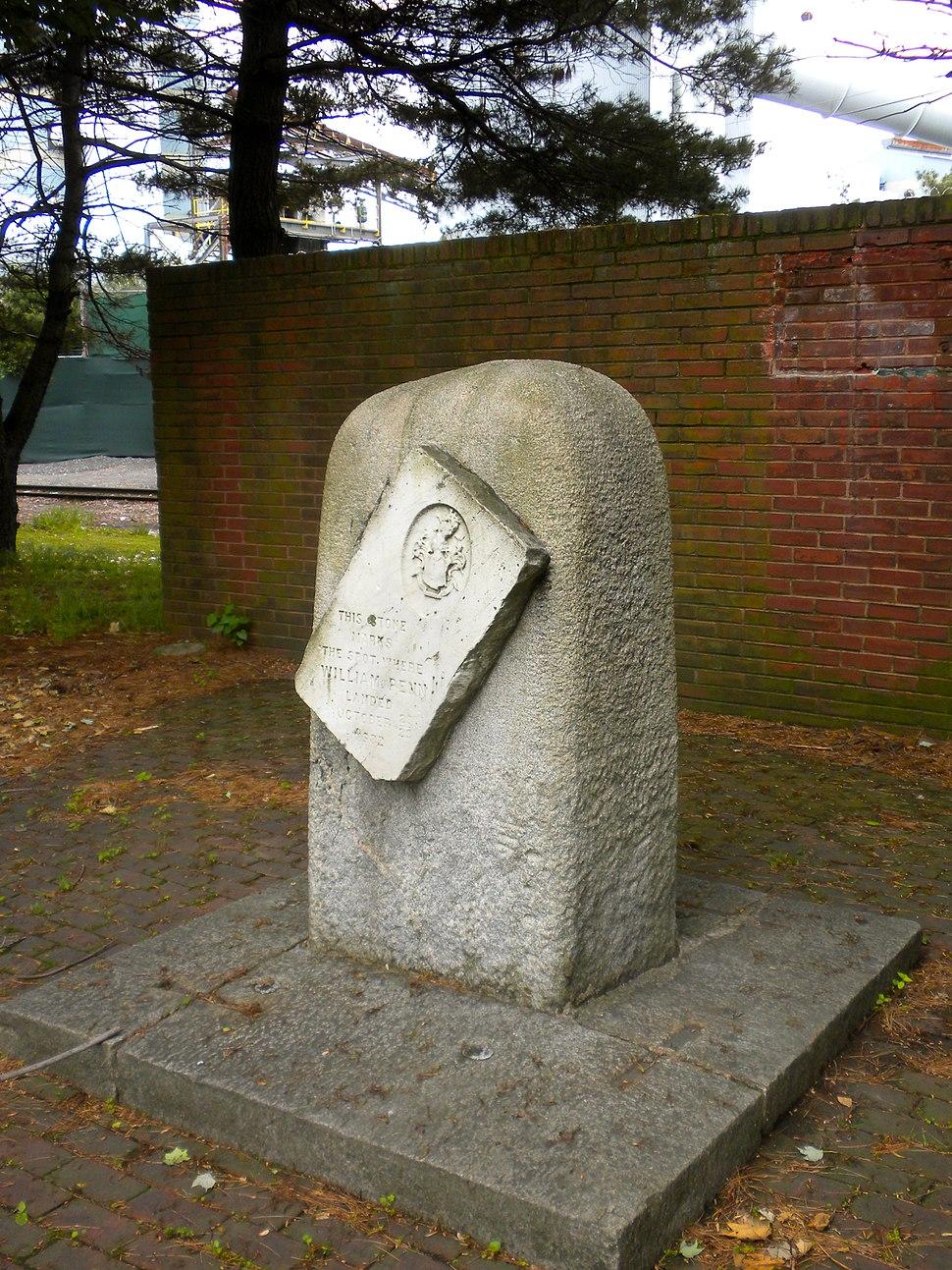Penn Landing Stone 2