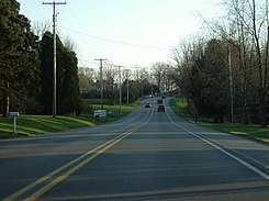 Pennsylvania Route 68 in Connoquenessing Township, Pennsylvania.jpg