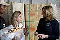 Penny Mordaunt sees UK aid for Yemen in a WFP warehouse in Djibouti (39547486502).jpg